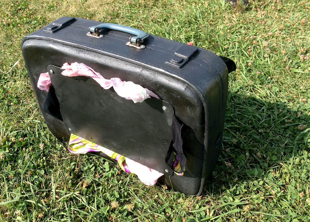 Baggage Suitcase 2nd side