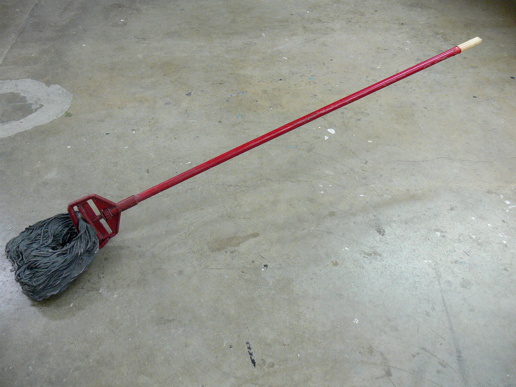 Mop red handle